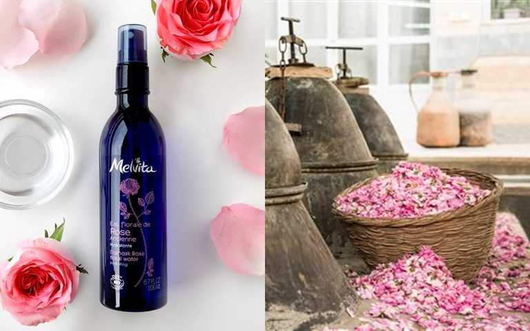 小編個人用光了不知道幾瓶的Melvita玫瑰花粹就添加了99%有機玫瑰活性成分與高含量精油,所以能夠快速穩定肌膚油水平衡。(圖/品牌提供)