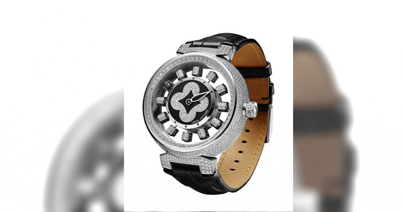 Louis Vuitton/Tambour Spin Time Air Paved