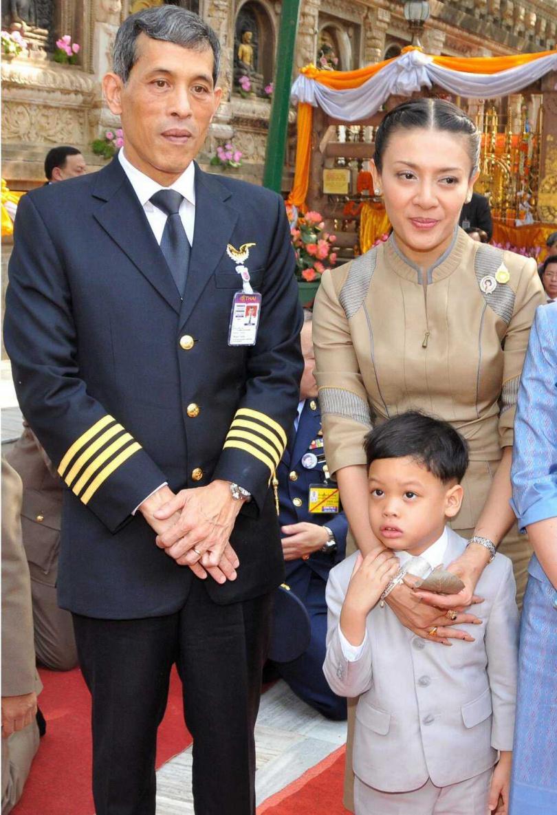 近日泰國坊間流傳,西拉米被拍到從冷宮解禁。(圖/翻攝自Andrew MacGregor Marshall Twitter)