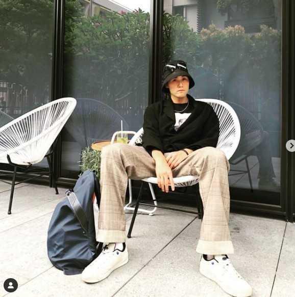 張誌軒3月猝逝,得年23歲。(圖/翻攝自IG/oren_chang_)