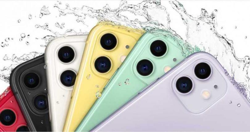 富士康iPhone 12的產量下跌50%。(圖/蘋果台灣官網)