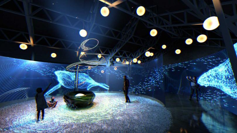 風起夢境的千川百魚主題,象徵財富的夢境。