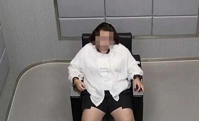 女子遭逮捕後坦承盜用美女照片騙取錢財。(圖/翻攝自網易新聞)