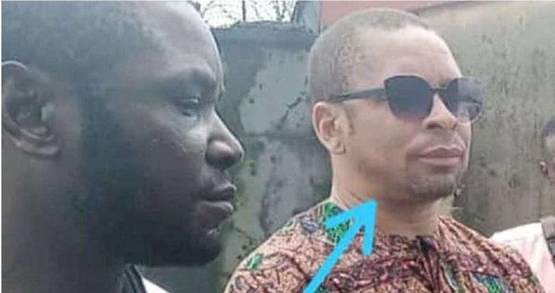 奈及利亞牧師牧師桑代(右)。(圖/翻攝自臉書Anita Nenyenwa Uzoije)