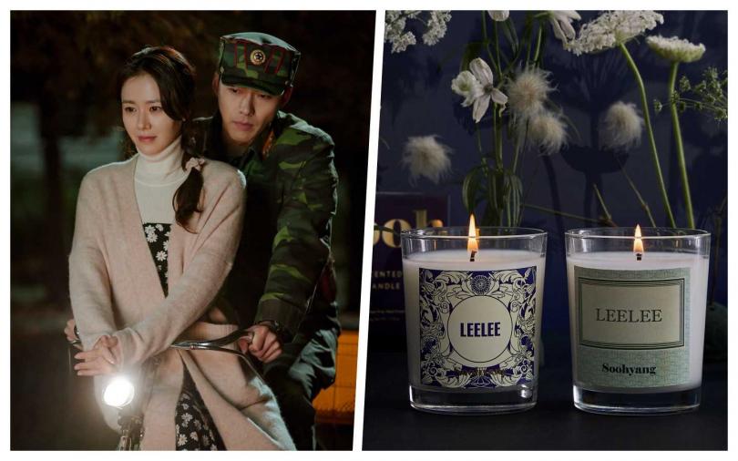Fred Segal獨家引進這款韓劇 《愛的迫降》秀香 Soohyang 聯名款 LEE LEE 香氛蠟燭。(圖/Neflix、品牌提供)