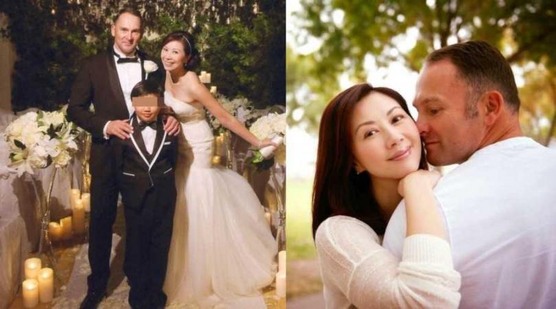 楊寶玲49歲時,攜子3嫁英籍初戀男友。(圖/FB)