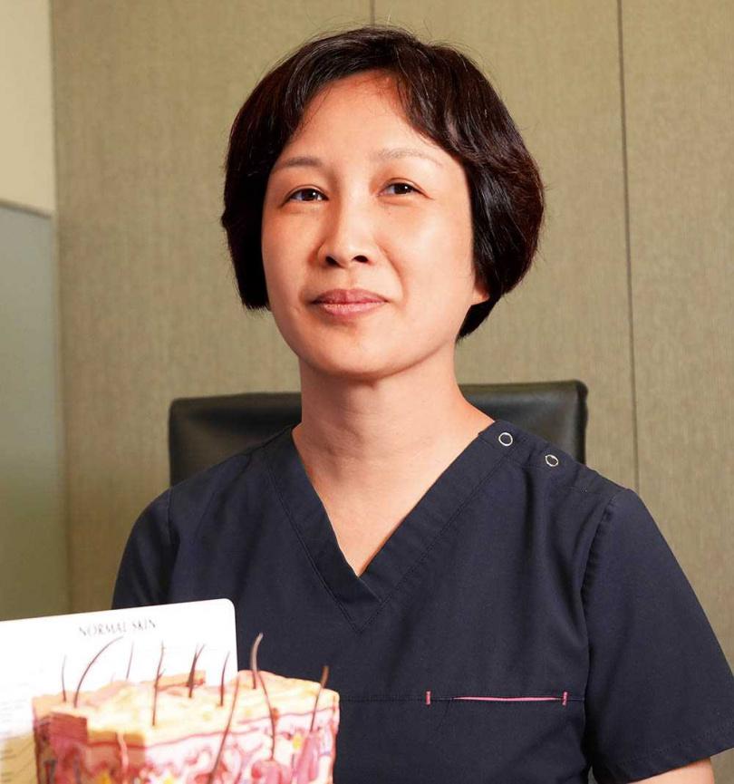 鄭惠文醫師強調,PM2.5會降低皮膚防禦力,引起發炎、過敏等症狀。(圖/鄭惠文醫師提供)