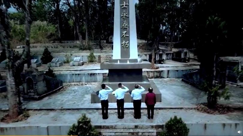 張家三兄弟都成為警察。(圖/翻攝新華社)
