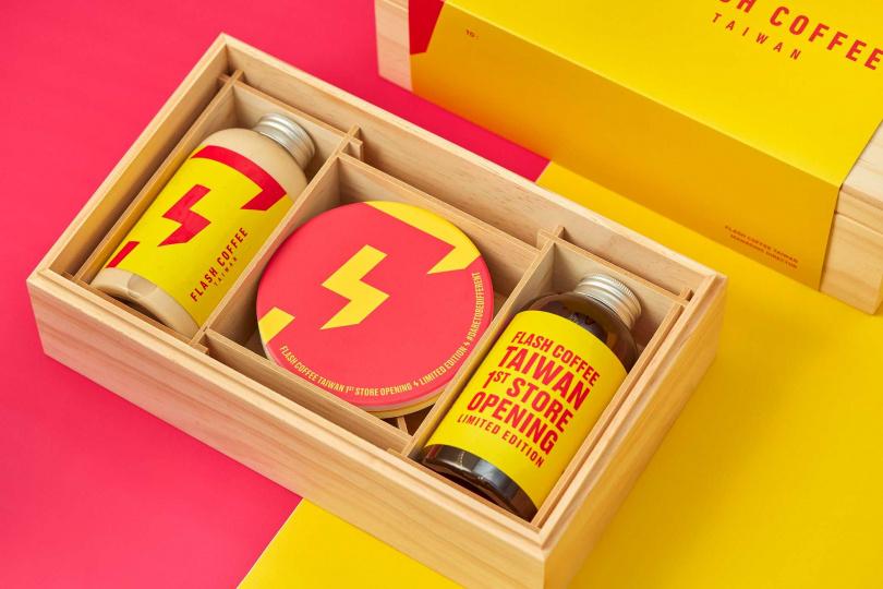扭蛋活動頭獎可獲得限量木盒咖啡和品牌請喝飲料一個月。