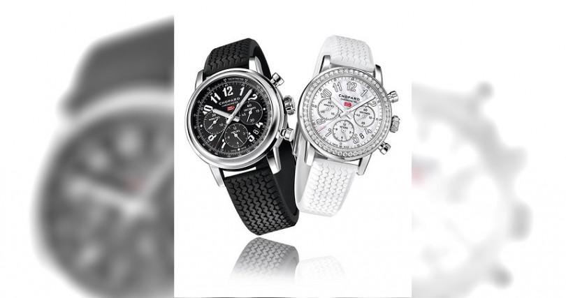 Mille Miglia Classic Chronograph錶徑:42mm定價:170,000元(黑色)Mille Miglia Classic Chronograph錶徑:39mm定價:413,000元(白色)