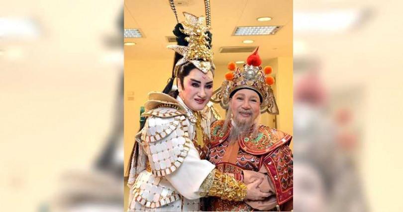 楊麗花與小鳳仙情同手足,是多年至交的拜把姊妹。(圖/楊麗花歌仔戲提供)