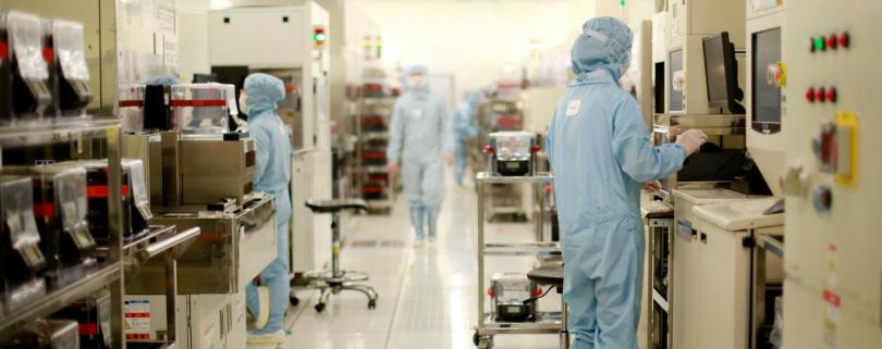 中芯主力產能為8吋晶圓廠,0.15及0.18微米製程占比最高。(圖/翻攝自中芯官網)
