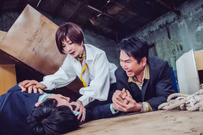 陳美鳳、洪都拉斯劇中有精彩對手戲。(圖/民視)