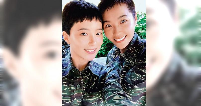 因拍攝《女兵日記》,王上菲與小嫻情同姊妹,兩人常相揪吃鍋。