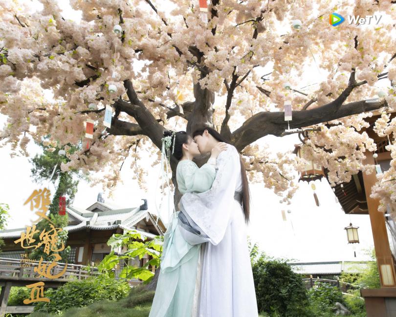 《雙世寵妃3》坦誠夫婦吻戲高達27場。(圖/WeTV)