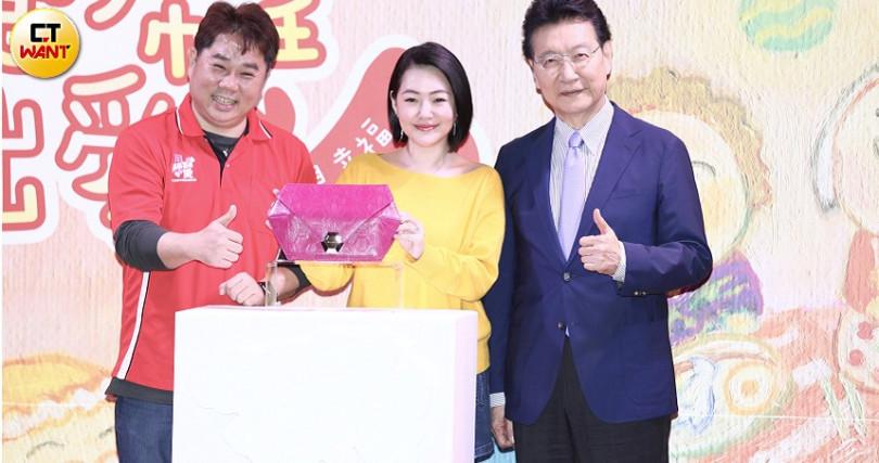 小S出席「擁抱希望傳出愛」公益活動,擔任愛心大使。(攝影/彭子桓)
