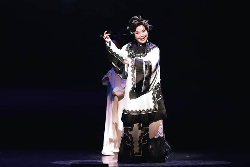 唐美雲創立「唐美雲歌仔戲團」,致力於新編歌仔戲目,大膽嘗試不同的表演形式。(圖/唐美雲提供)