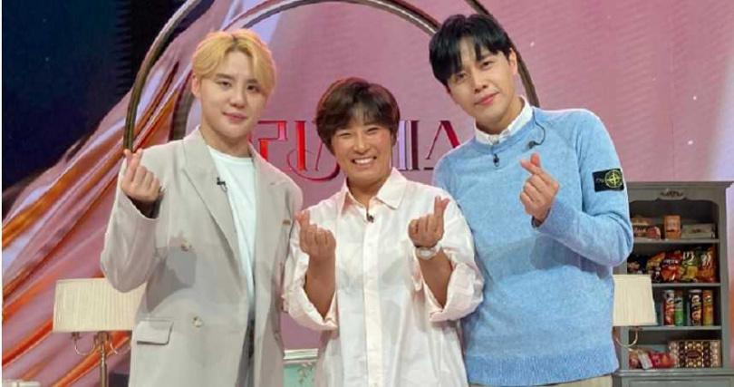 孫俊浩(右起)、朴世莉相繼感染新冠肺炎,金俊秀目前正在隔離中。(圖/翻攝自網路)