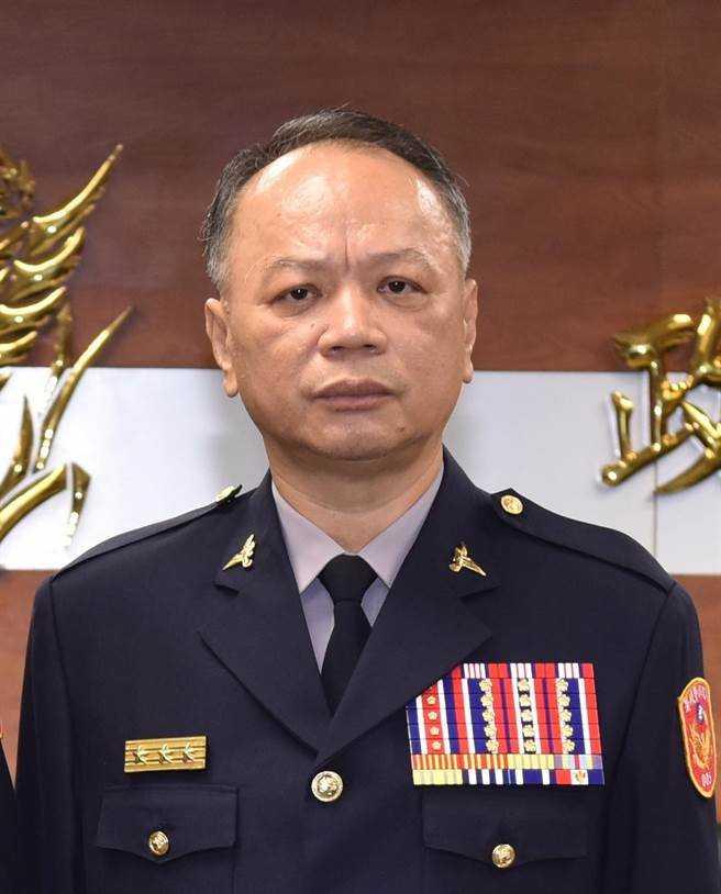 警政署副署長蔡蒼柏接任台中市警察局長。(圖/警政署提供)