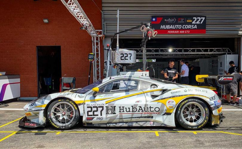 這次參加2020利曼耐久賽HubAuto Racing的參賽車輛。(圖/中華車會)