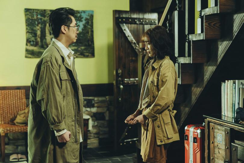 李亦捷在《2049》「婚內失戀」超沮喪!求助讀心機器遭陳漢典嫌。(圖/瀚草影視)