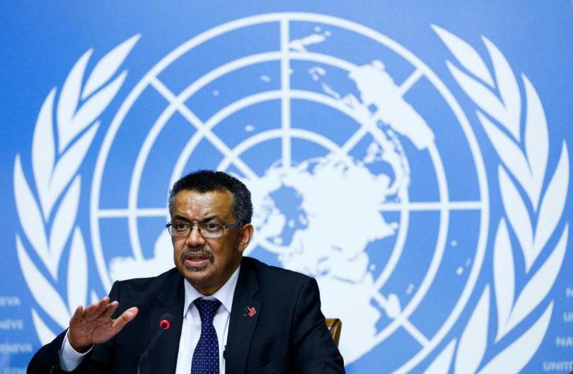 譚德塞指大陸以外疫情恐是「冰山一角」 ,籲全球做好準備。(圖/Reuters)