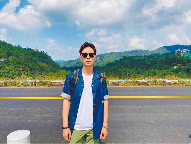 陳勢安喜歡和朋友們在台灣到處旅遊。(圖/陳勢安提供)
