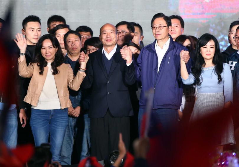 韓國瑜「非典型國民黨」庶民形象與個人特質,無法翻轉選情。(圖/報系資料照)