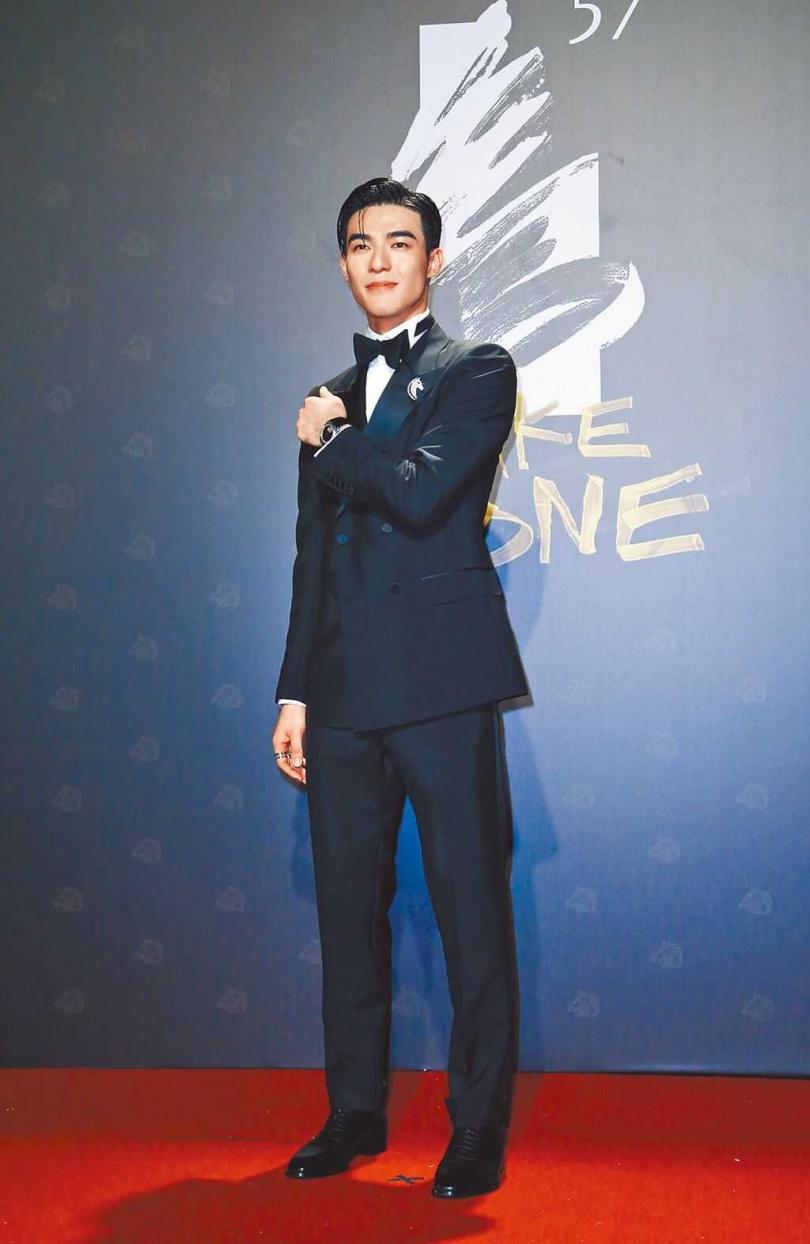 陳昊森去年入圍金馬獎新演員,聲勢看漲。(圖/報系資料照)