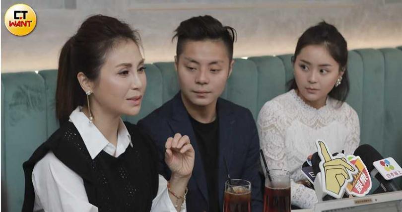 梁佑南與兒子方璿、女兒方琦開業餐酒館「Church Taipei」,一家人一起投身營運。(攝影/林士傑)