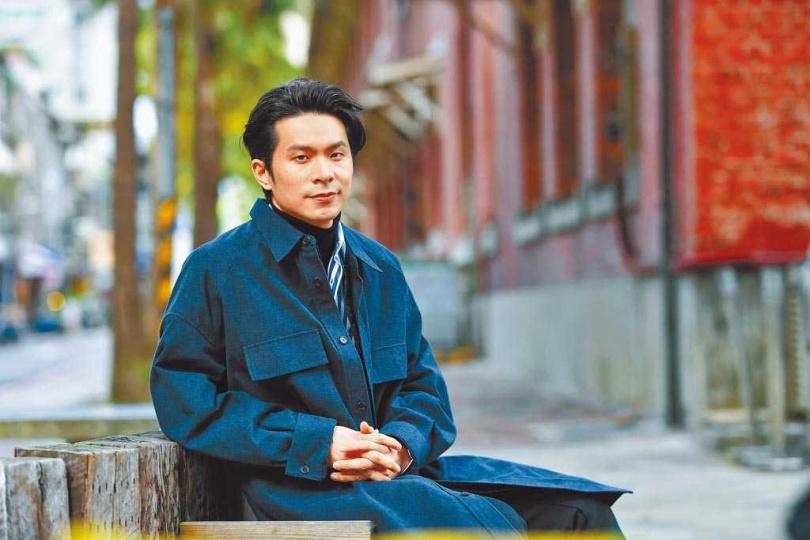 姚淳耀在《返校》影集飾演「沈華」,角色極具挑戰性。(圖/中國時報盧禕祺攝)