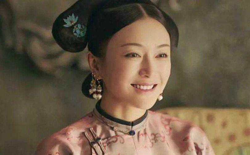 秦嵐在《延禧攻略》中飾演皇后富察容音。(圖/百度)