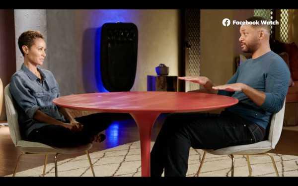 威爾史密斯坦言已不再計較這段婚外情。(圖/Red Table Talk  FB)