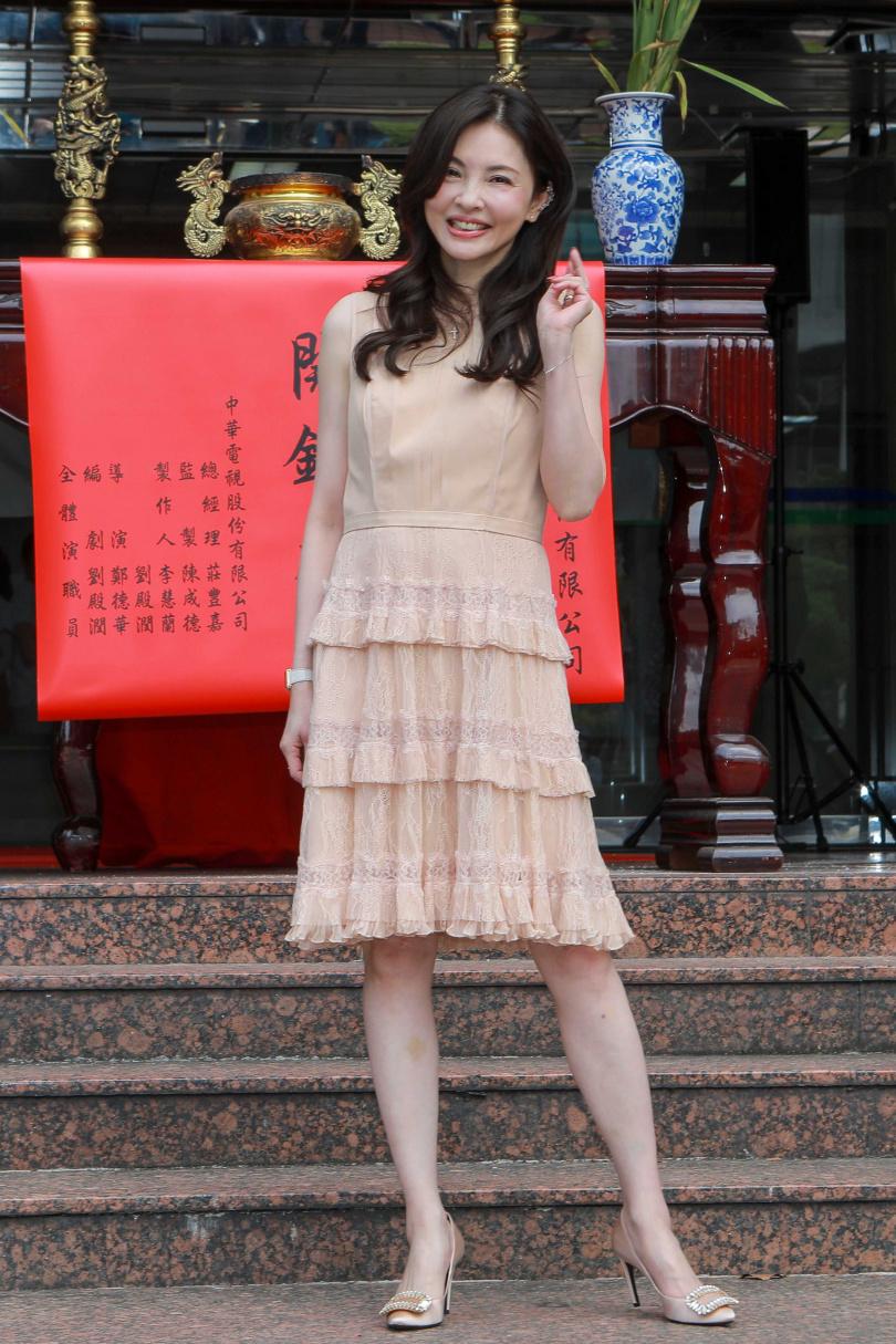 何如芸2019年4月向美侖飯店董事王敏錡提出離婚,她透露25日將進行第3次開庭。(攝影/林士傑)