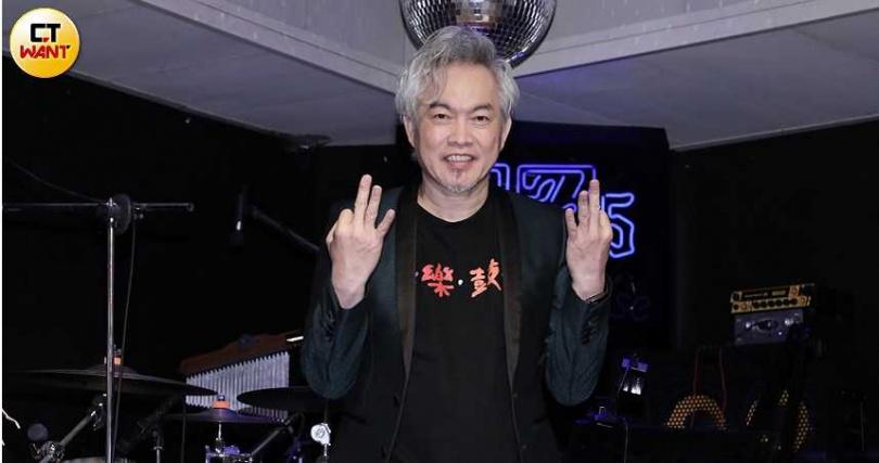 辛龍老婆劉真去年不幸過世,迄今他仍未走出傷痛,康康透露這次演唱會辛隆仍不會參與。(攝影/彭子桓)