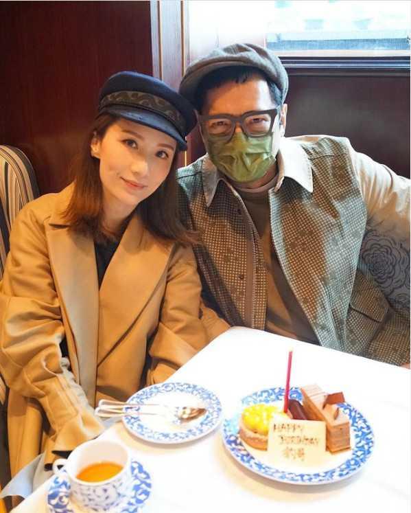 單立文與胡蓓蔚結婚多年,感情恩愛。(圖/翻攝自單立文IG)
