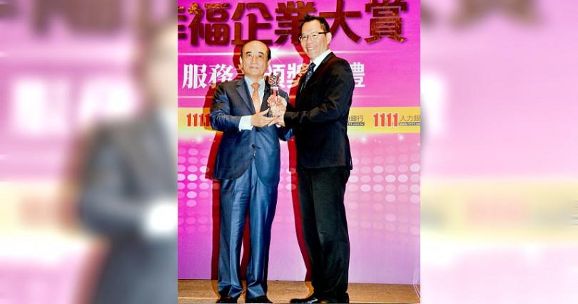 前立法院長王金平對韓張配表示,樂觀其成,尊重與祝福,未來一切順其自然。(圖/1111人力銀行提供)