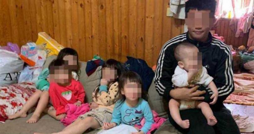 5寶爸爭議頻傳,如今前雇主也出面爆料。(圖/台中市行善團協會提供)