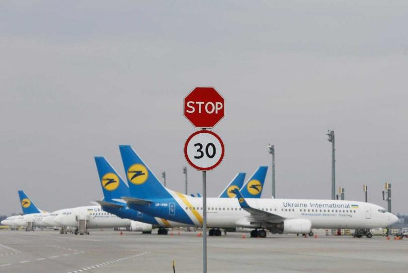 烏克蘭航空公司(UIA)。(圖/Reuters)