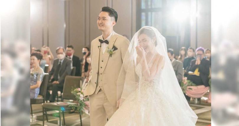 婚禮在萬豪酒店舉行,吳宗憲透露約有80位賓客。