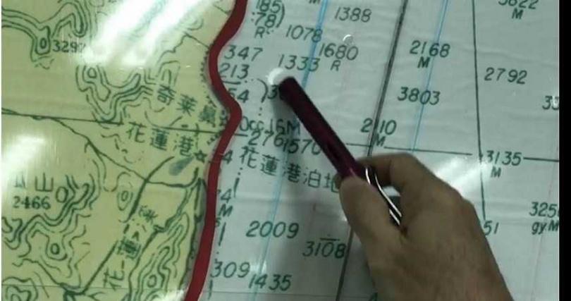 F-16A戰機失聯,海巡今加強奇萊鼻以北海域搜索。(圖/王志偉攝)