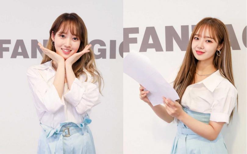 若不當藝人,SEI(左)想挑戰當空姐,磪有情要開咖啡廳。(圖/CL Creative & Entertainment提供)