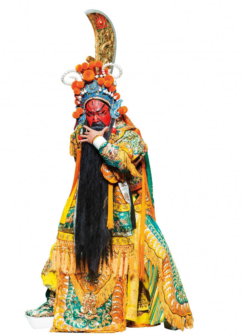 紅臉、捋髯、手持青龍偃月刀的關聖帝君,形像鮮明。(圖/報系資料照)