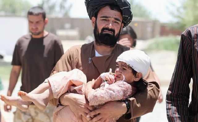 阿富汗戰爭中,許多平民百姓無辜慘遭澳洲士兵屠殺犧牲。(圖/達志/美聯社)