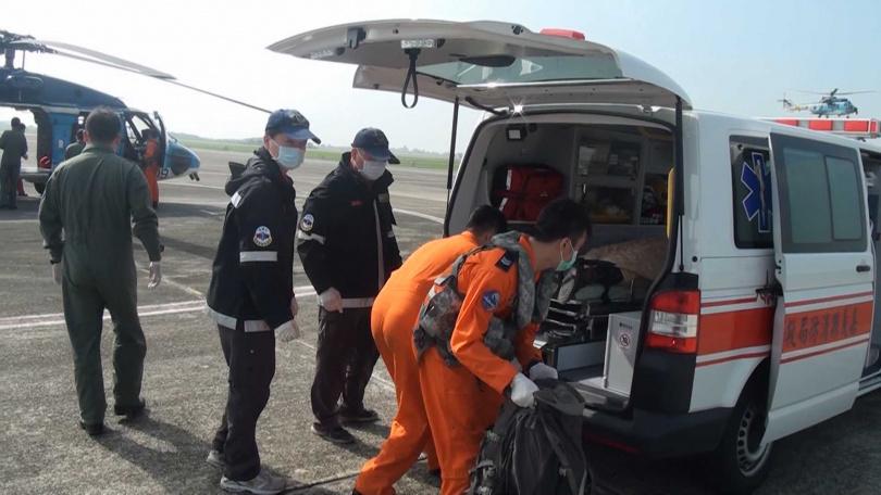 劉姓超馬選手的遺體數天後被國軍尋獲。