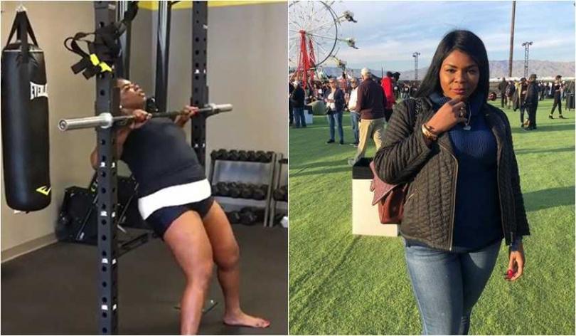 拳王泰森大女兒米奇(Mikey Lorna Tyson)過去明顯肥胖,後來努力減重,減掉快半個自己。(圖/翻攝IG)
