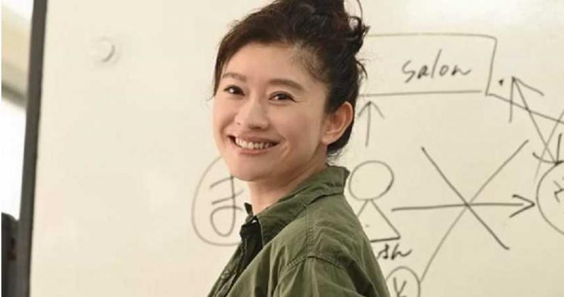 篠原涼子被爆戀上小13歲韓星金光秀。(圖/翻攝自推特)