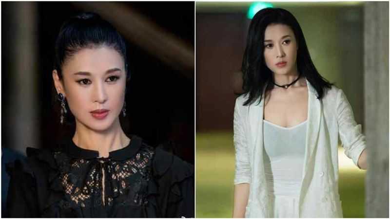 54歲中國女演員鄭爽。(圖/翻攝自諜狼之變色龍微博)