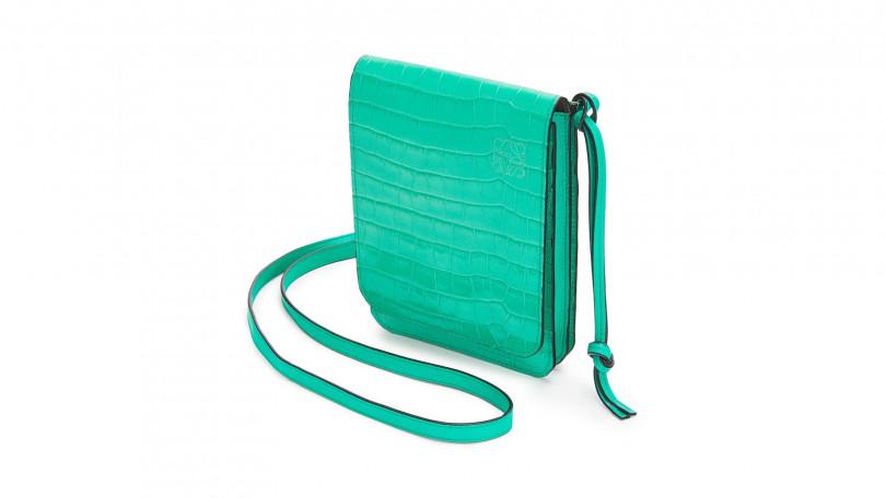 明亮特殊的藍綠色、風琴式結構、小巧卻兼顧實用,還有什麼比這個更完美?!(圖/品牌提供)