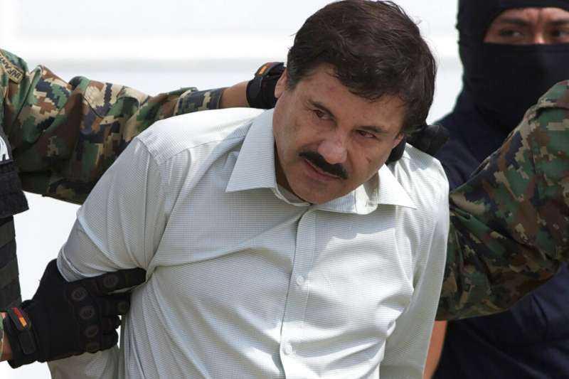 墨西哥毒梟「矮子古茲曼」。(圖/AP)